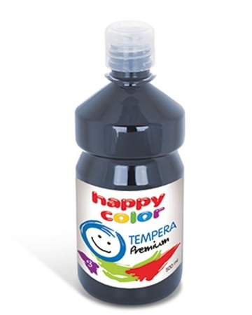 Farba tempera GRAFITOWA 500 ml happy color