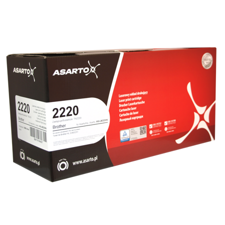 Toner do Brother 2220 (TN2220) Asarto
